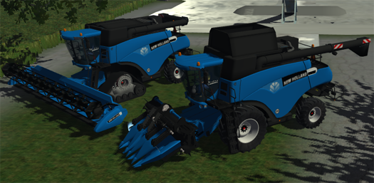 New Holland CR9090 Pack (Blue)